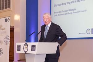 Dr Alan Gillespie, current Chair ESRC