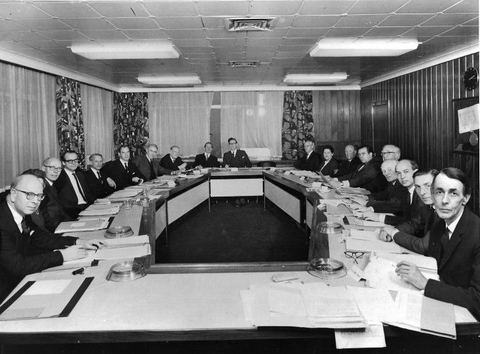 First meeting of the SSRC (now ESRC)