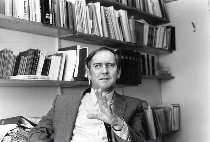 Sir Douglas Hague, former Chair (1983-1987)