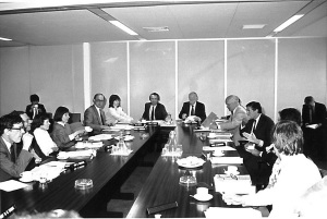 Council meeting, March 1989