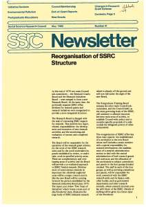 Newsletter 41 May 1980