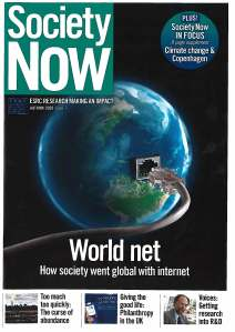 Society Now Autumn 2009 Issue 5
