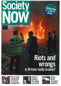 Society Now Autumn 2011 Issue 11