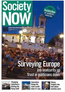 Society Now Summer 2013 Issue 16