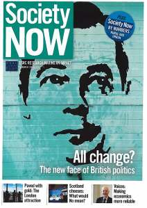 Society Now Summer 2014 Issue 19