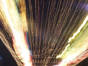 Stream of lights