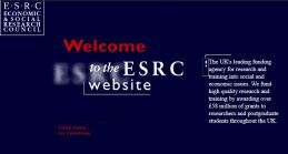 ESRC website 1998