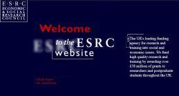 ESRC website 1998