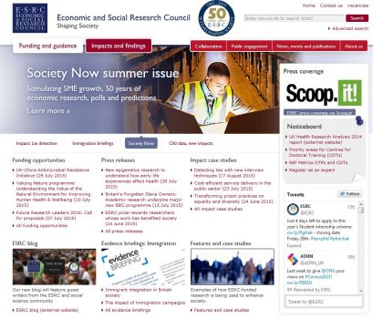 ESRC website 2015
