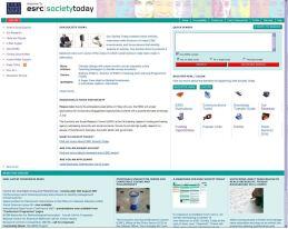 ESRC website 2007