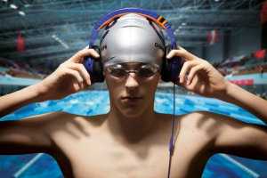 Male swimmer - Winner of 2013 photographic competition