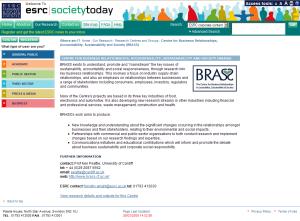 ESREC website 2009