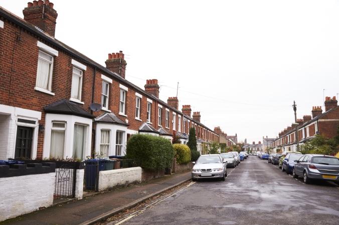residential street UK DT