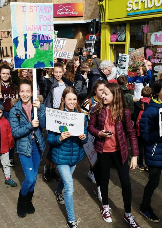 Climate Strike in Oxford March 2019